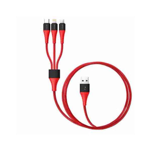 3-in-1 Super USB Charging Cable Type C Micro USB