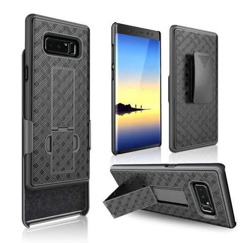 Patterned Hard Case with Optional Belt Clip for Note 8