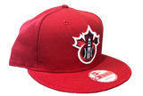 All Red Champions Snapback Hat by New Era