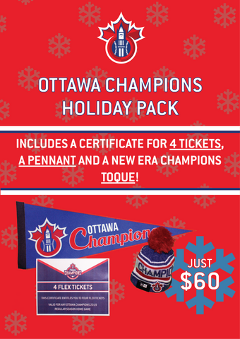 Holiday Pack with Toque
