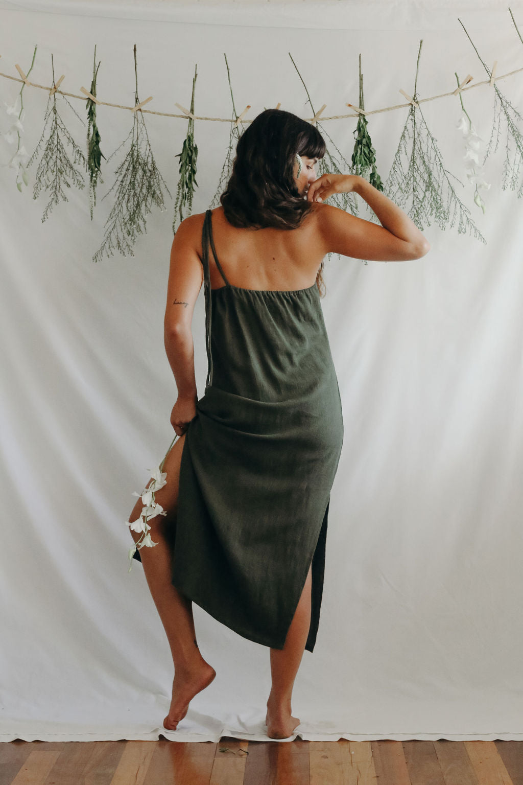 Shadow Maxi Dress