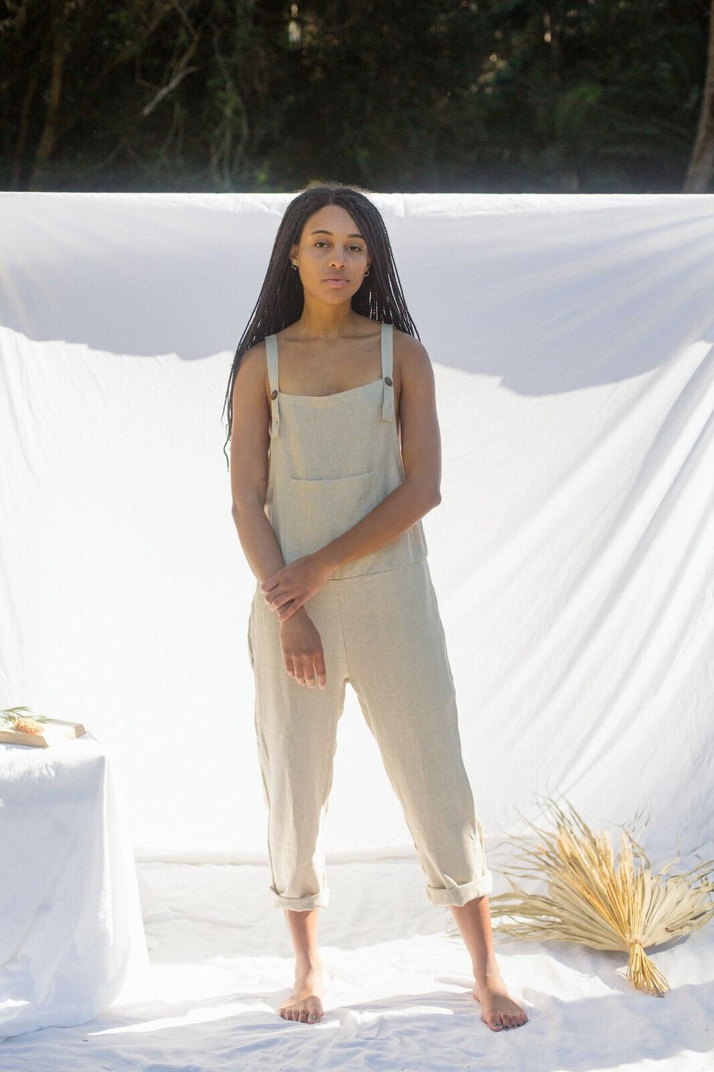 Teez Overalls - Natural (Pre-order)