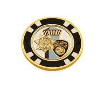 CDC Poker Chip / Golf Ball Marker Challenge Coin