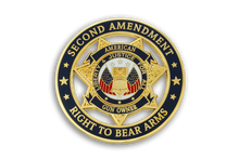 1st Coin in <br> American Gun Owners CDC Challenge Coin Series - <br> SECOND AMENDMENT