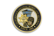 2nd Coin in <br> American Gun Owners CDC Challenge Coin Series - <br> HOMELAND SECURITY
