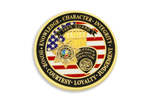 1st in <br> CDC Old School <br> Challenge Coin Series - <br> CORRECTIONAL GUARD