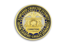 3rd in <br> CDC Old School <br> Challenge Coin Series - <br>  CDC MEETS CDCR