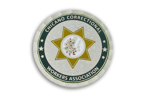 Chicano Correctional Workers Association (CCWA) <br>  Challenge Coin