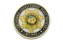 CDC RETIRED <br> Correctional Guard <br> Challenge Coin