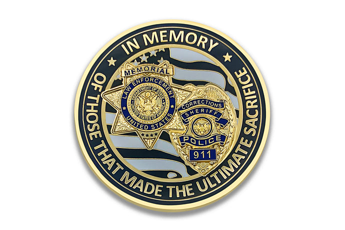 *PRE-SALE* <br> Law Enforcement <br> Memorial Coin