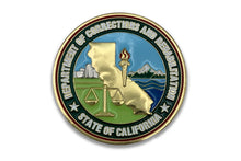 CDCR Proud <br> Challenge Coin