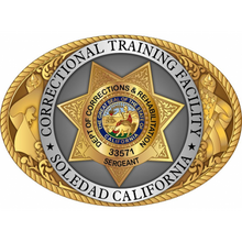 Find Your CDCR Institution Buckle!