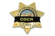 CDCR Memorial Badge Band