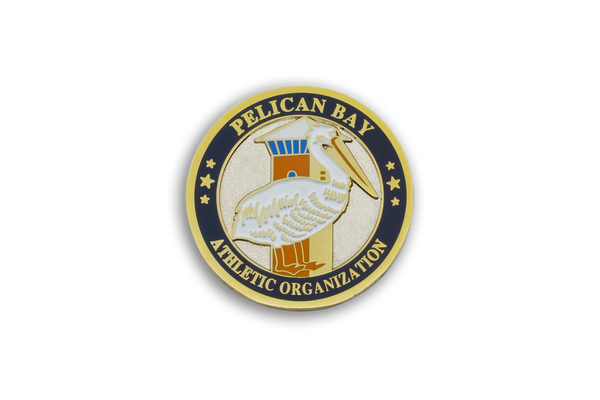 Pelican Bay State Prison Golf Ball Marker