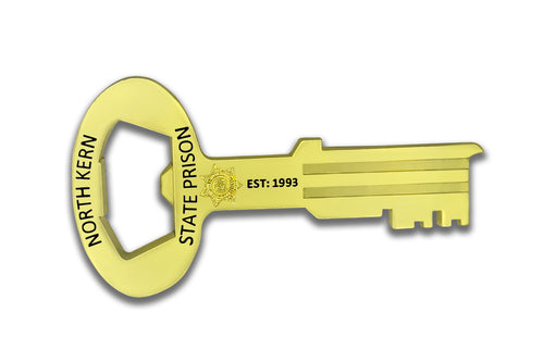 North Kern State Prison Magnet Bottle Opener