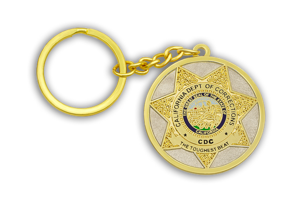 CDC Badge Key Chain