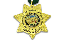CDC/CDCR Double Sided <br> Christmas Ornament