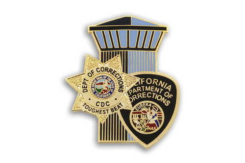 CDC <br> Badge, Patch, Tower Combo <br> Lapel Pin
