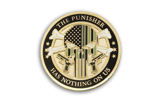 CDC The Punisher Lapel Pin
