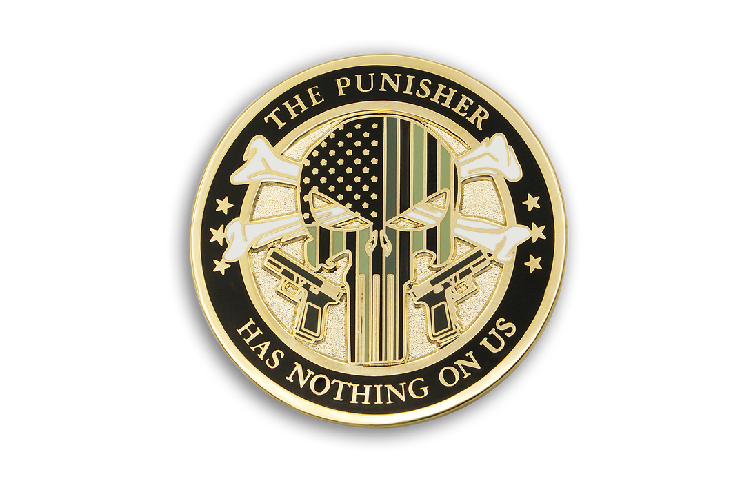 CDC The Punisher <br> Lapel Pin