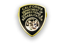 CDCR Arm Patch Lapel Pin