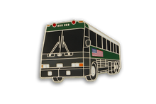 "CDCR Transportation Vehicles ""The Green Goose"" Bus Lapel Pin"