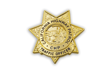 CHP Badge Lapel Pin