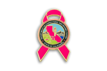 Pink Ribbon Series CDCR Seal Lapel Pin #3