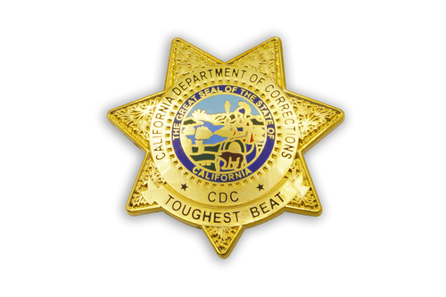 CDC Badge <br> Lapel Pin
