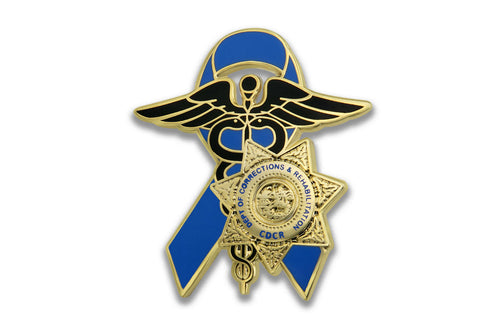 Blue Ribbon Series <br> CDCR Medical Lapel Pin #4
