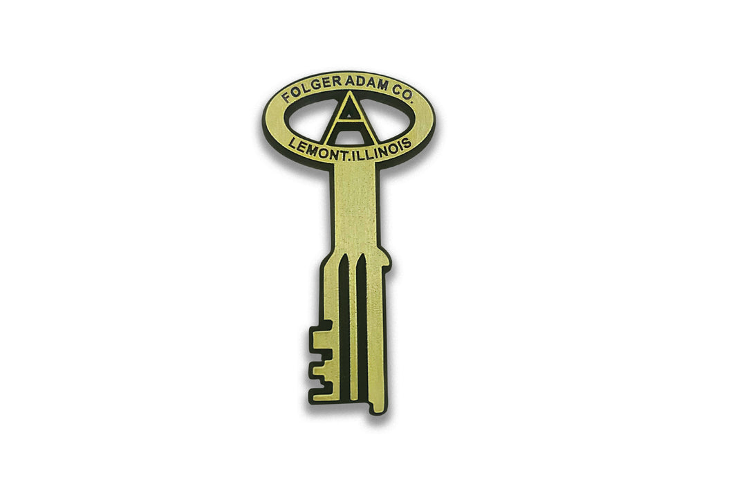 Folger Adam Key <br> Lapel Pin