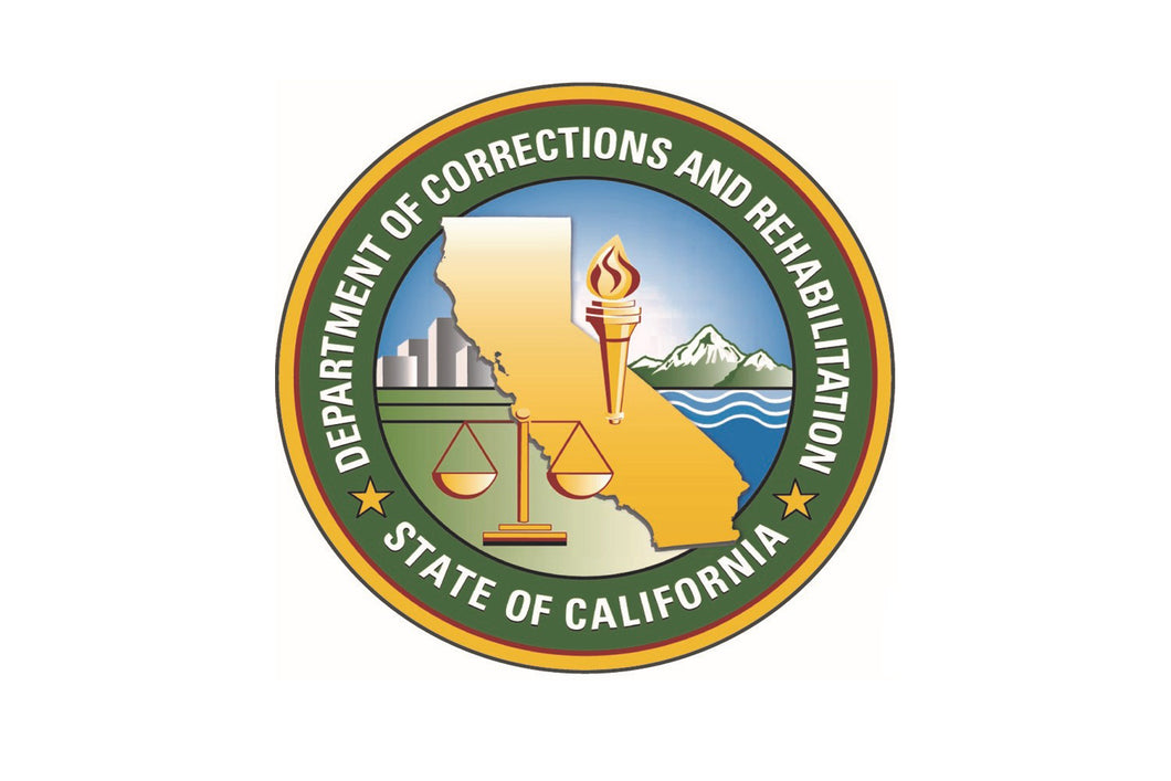 California Dept. of Corrections and Rehabilitation<br> Lapel Pin