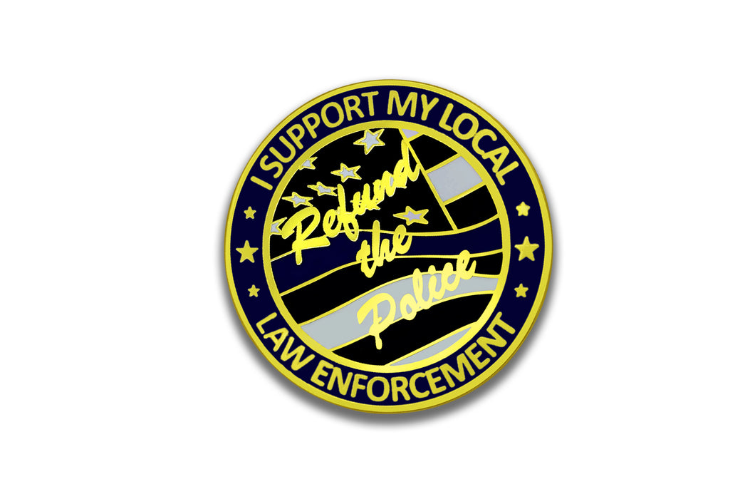Refund the Police <br> Lapel Pin