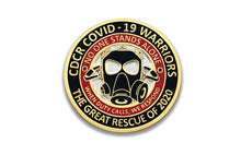 CDCR COVID Warrior's <br> Lapel Pin