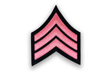 Pink Chevron Patch