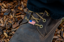 American Flag <br> Boot and Shoe Charm - Set of 2