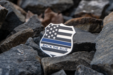 Back The Blue Shield Lapel Pin