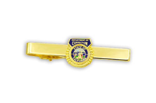 Dept of Corrections (DOC) California State Seal Tie Clip