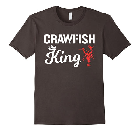 Crawfish T Shirt Crawfish King Cajun Boil Funny Gift Shirt