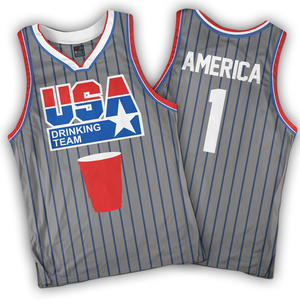USA Drinking Team (Grey)