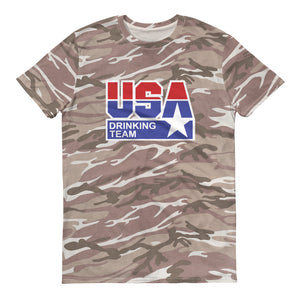 USA Drinking Team - Camo