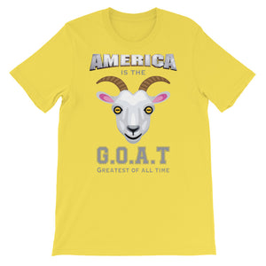 America Is The G.O.A.T