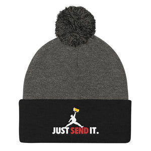 Just Send it Pom Beanie
