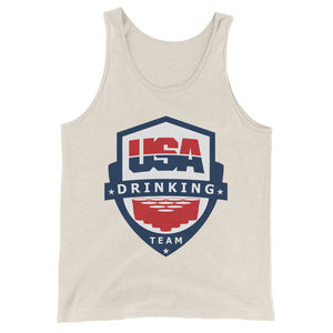 USA Drinking Team Tank - Beer Pong
