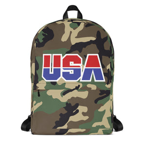 USA Camo Backpack