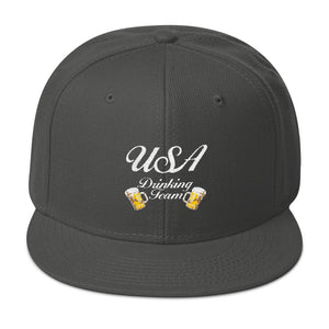 Throwback USA Drinking Team - Snapback