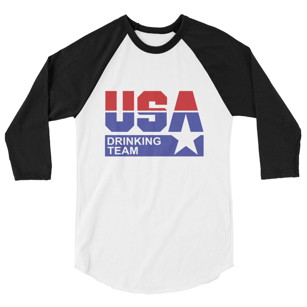 USA Drinking Team 3/4 Sleeve