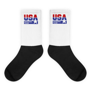 USA Drinking Team Socks