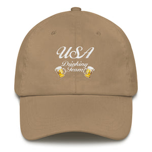 Vintage USA Drinking Team - Dad Hat