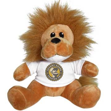 Small Lion Stuffed Animal